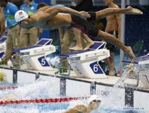 Photos: Chinese Swimmer In High Demand At The Olympics Over His Good Looks